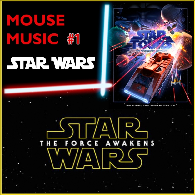 Star Wars Artwork for our Disney Music Podcast