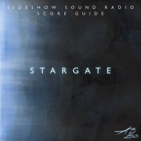 Stargate Artwork for our Film Soundtrack Podcast