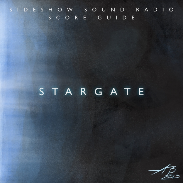 Stargate Artwork for our Film Soundtrack Podcast