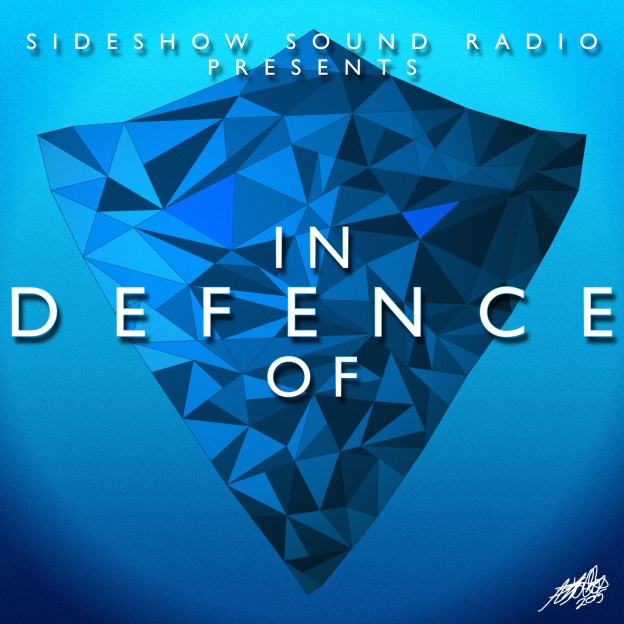 Sideshow Sound Radio In Defence of Title Card Artwork for our Film Music Podcast