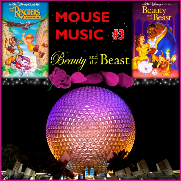 Beauty and the Beast Artwork for our Disney Music Podcast