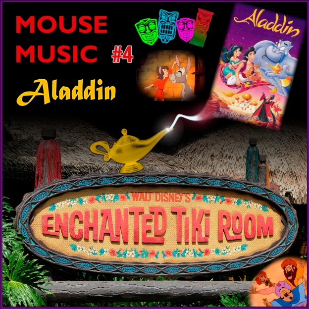 Aladdin Artwork for our Disney Music Podcast