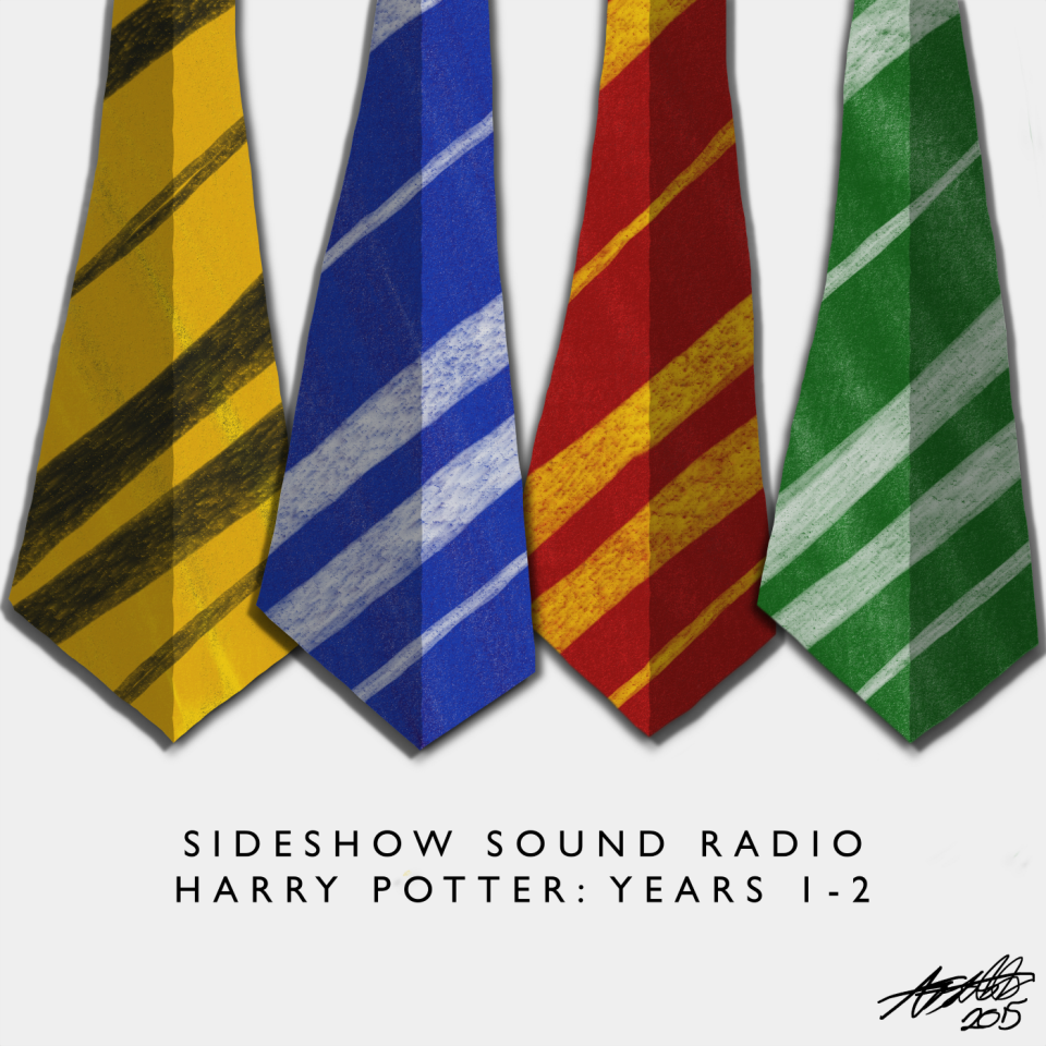Harry Potter Music, Vol. 1 Artwork for our Film and Television Soundtrack Podcast