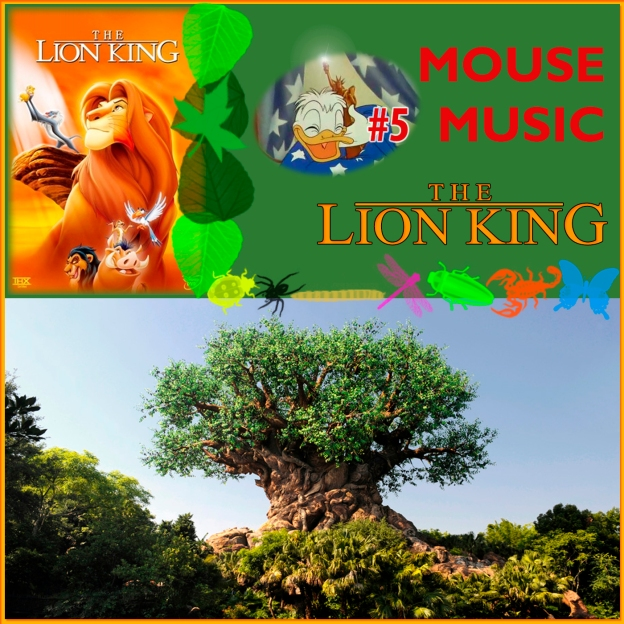 The Lion King Artwork for our Disney Music Podcast