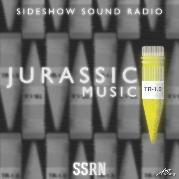 Jurassic Music Artwork for our Film Soundtrack Podcast