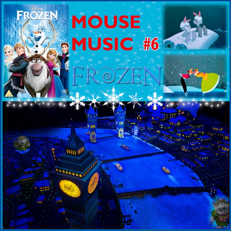 Frozen Artwork for our Disney Music Podcast