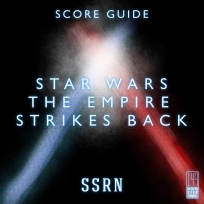 Star Wars The Empire Strikes Back Artwork for our Film Soundtrack Podcast