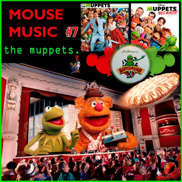 The Muppets Artwork for our Disney Music Podcast