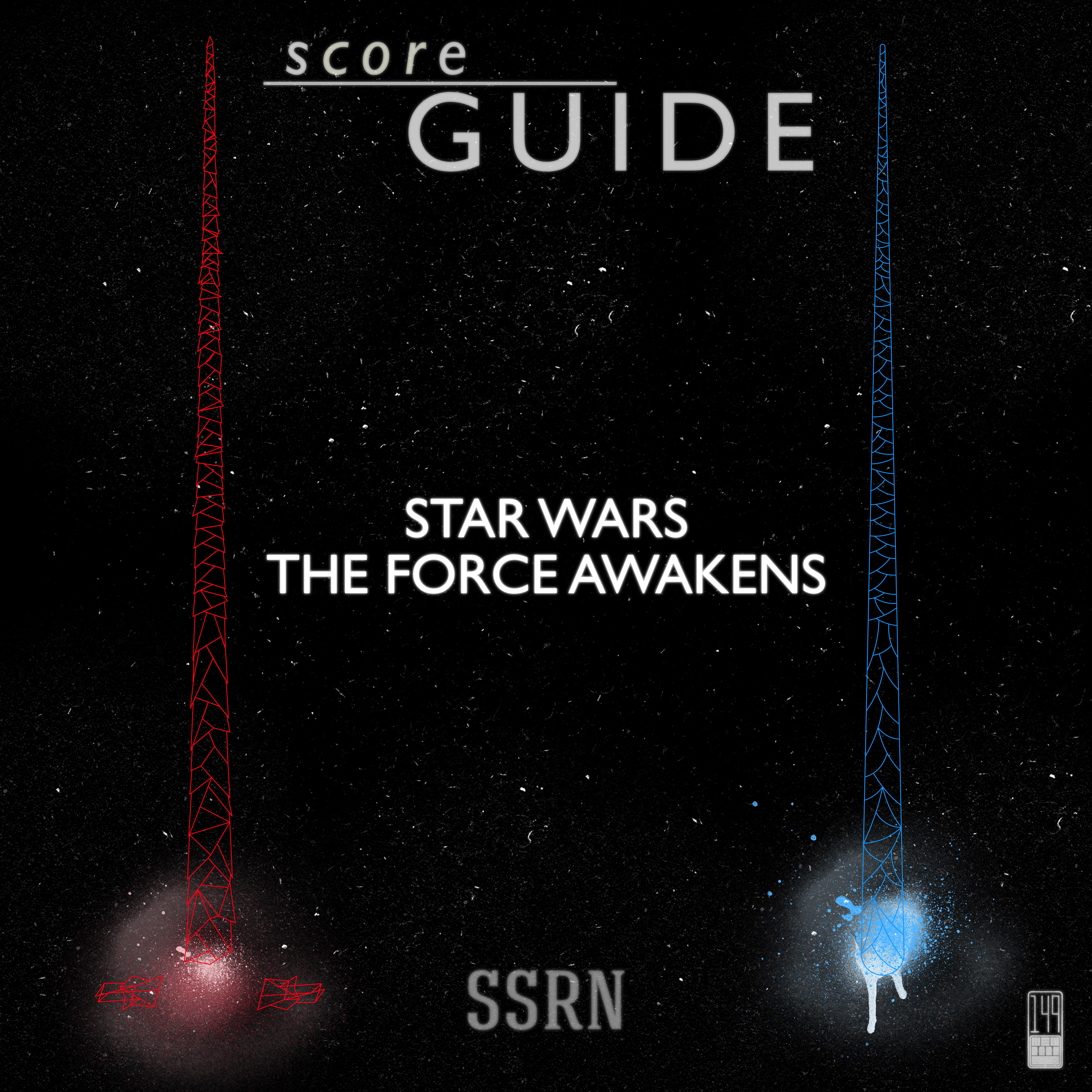 Star Wars The Force Awakens Artwork for our Film Soundtrack Podcast