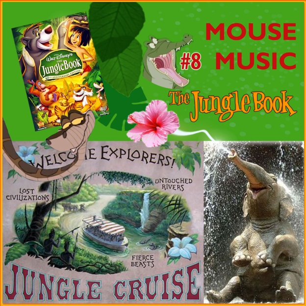 The Jungle Book Artwork for our Disney Music Podcast