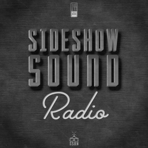 Sideshow Sound Radio Title Card Artwork for our Film Soundtrack Podcast