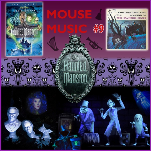 The Haunted Mansion Artwork for our Disney Music Podcast