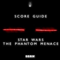 Star Wars The Phantom Menace Artwork for our Film Soundtrack Podcast