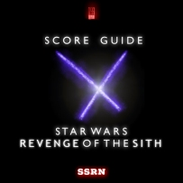 Star Wars Revenge of the Sith Artwork for our Film Soundtrack Podcast
