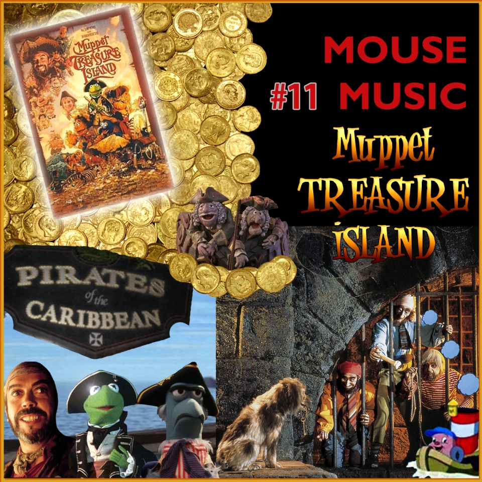 Muppet Treasure Island Artwork for our Disney Music Podcast
