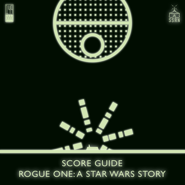 Rogue One A Star Wars Story Artwork for our Film Soundtrack Podcast