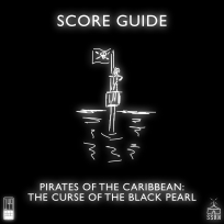 Pirates of the Caribbean The Curse of the Black Pearl Artwork for our Film Soundtrack Podcast