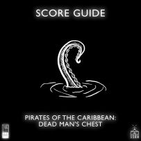 Pirates of the Caribbean Dead Man's Chest Artwork for our Film Soundtrack Podcast