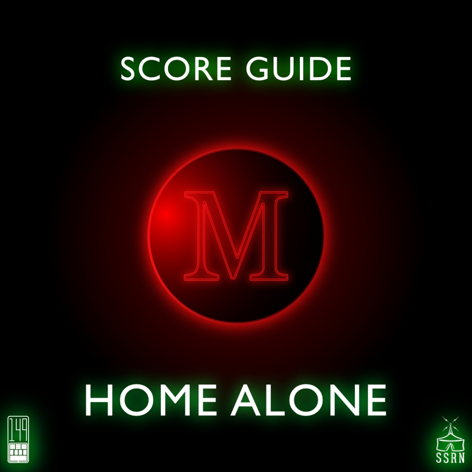 Home Alone Artwork for our Film Soundtrack Podcast