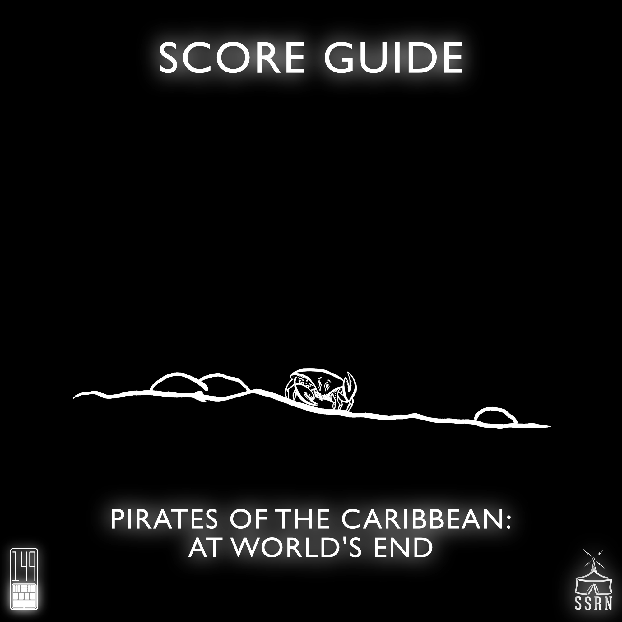 Pirates of the Caribbean At World's End Artwork for our Film Soundtrack Podcast