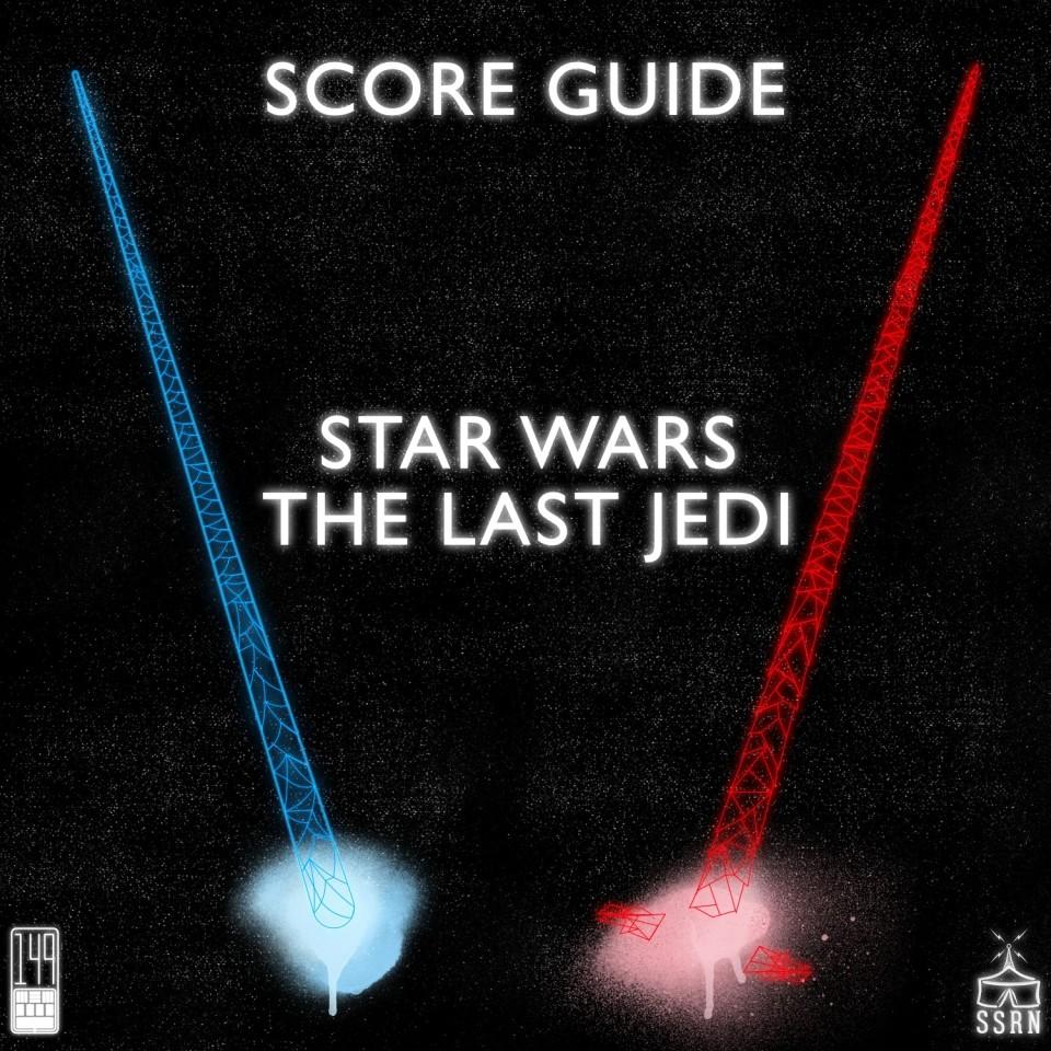 Star Wars The Last Jedi Artwork for our Film Soundtrack Podcast