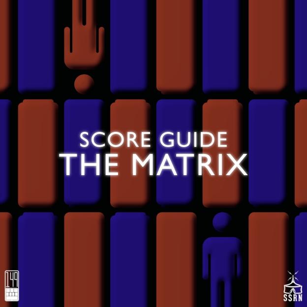 The Matrix Artwork for our Film Soundtrack Podcast