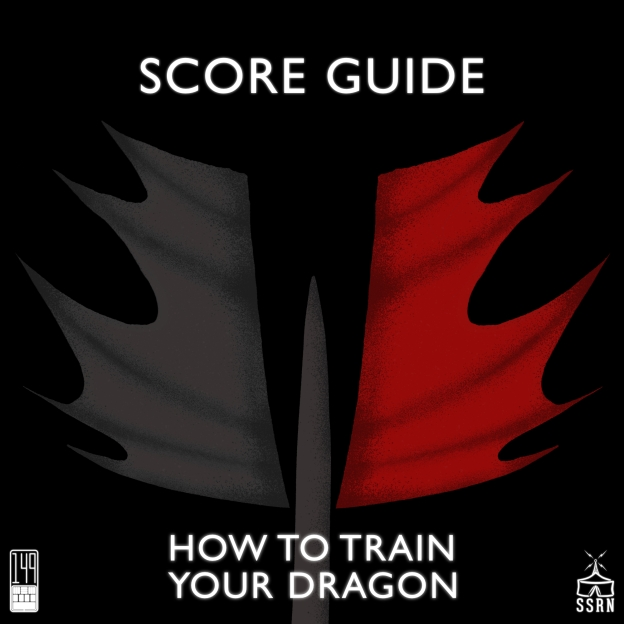 How to Train Your Dragon Artwork for our Film Soundtrack Podcast