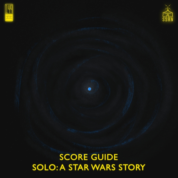 Solo A Star Wars Story Artwork for our Film Soundtrack Podcast