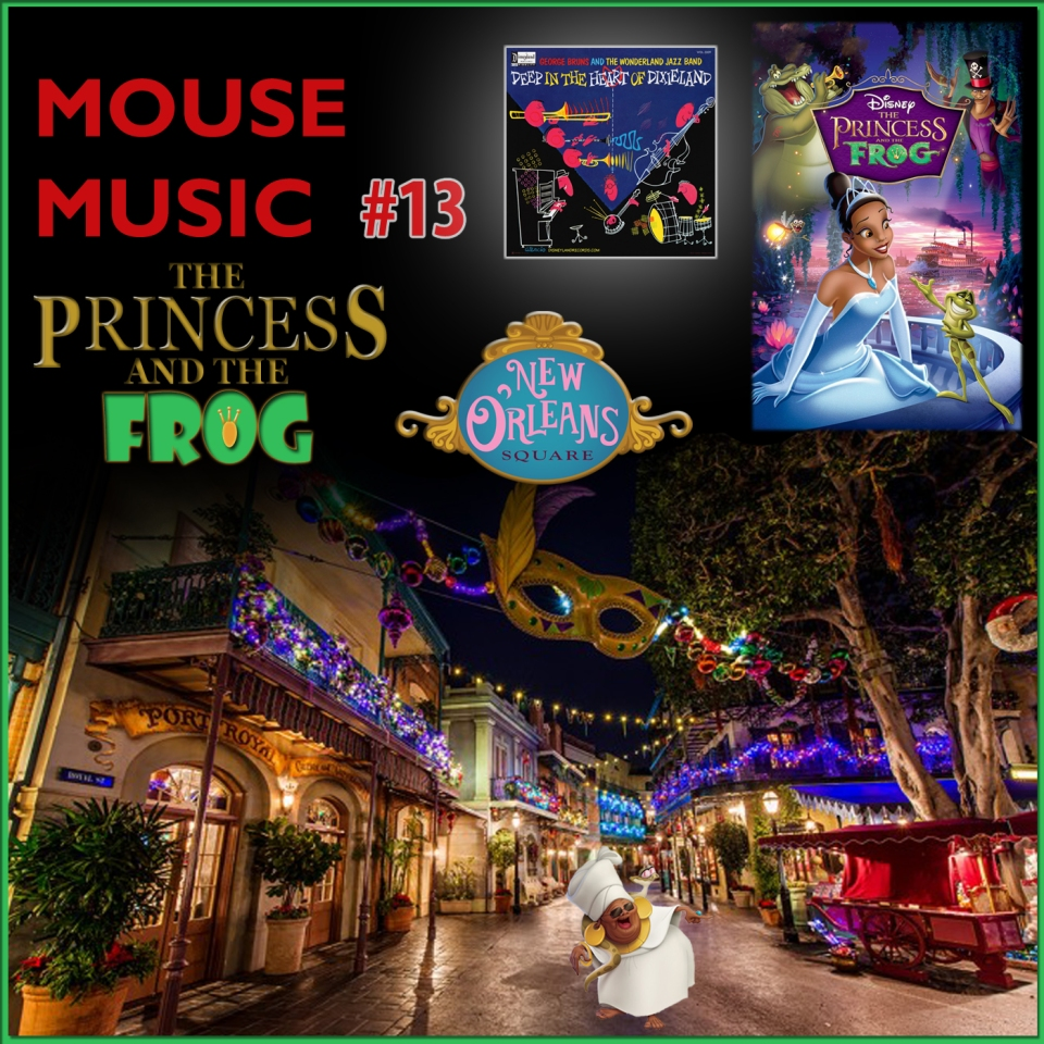 The Princess and the Frog Artwork for our Disney Music Podcast